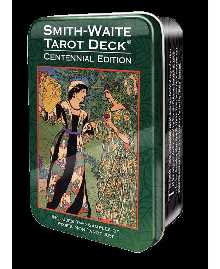 Smith-Waite Centennial Tarot Cards in a Tin
