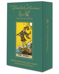 Smith-Waite Deluxe Tarot: Gilded Set Mystic Convergence Metaphysical Supplies Metaphysical Supplies, Pagan Jewelry, Witchcraft Supply, New Age Spiritual Store