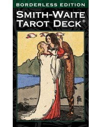 Smith-Waite Tarot Cards - Borderless Edition Mystic Convergence Metaphysical Supplies Metaphysical Supplies, Pagan Jewelry, Witchcraft Supply, New Age Spiritual Store