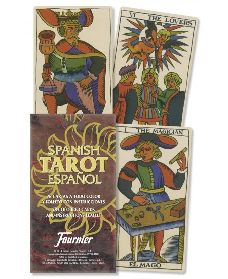 Spanish Tarot Cards at Mystic Convergence Metaphysical Supplies, Metaphysical Supplies, Pagan Jewelry, Witchcraft Supply, New Age Spiritual Store