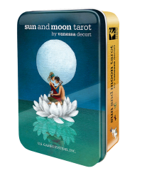 Sun and Moon Tarot Cards in a Tin Mystic Convergence Metaphysical Supplies Metaphysical Supplies, Pagan Jewelry, Witchcraft Supply, New Age Spiritual Store