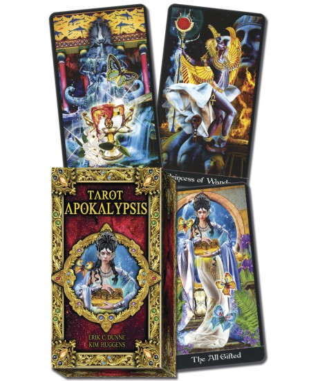 Tarot Apokalypsis Cards at Mystic Convergence Metaphysical Supplies, Metaphysical Supplies, Pagan Jewelry, Witchcraft Supply, New Age Spiritual Store