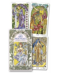 Tarot Art Nouveau Cards Mystic Convergence Metaphysical Supplies Metaphysical Supplies, Pagan Jewelry, Witchcraft Supply, New Age Spiritual Store