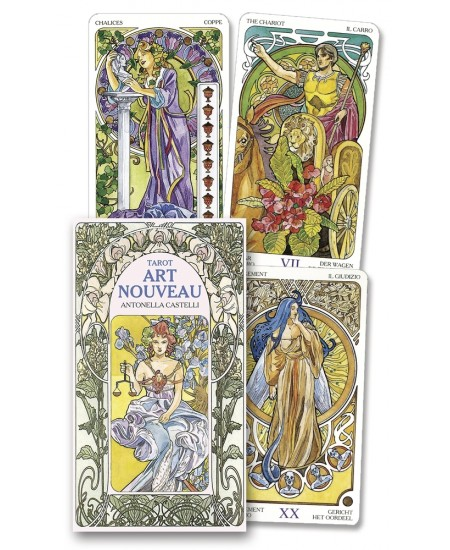 Tarot Art Nouveau Cards at Mystic Convergence Metaphysical Supplies, Metaphysical Supplies, Pagan Jewelry, Witchcraft Supply, New Age Spiritual Store