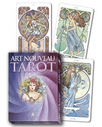 Tarot Art Nouveau Grand Trumps Cards Mystic Convergence Metaphysical Supplies Metaphysical Supplies, Pagan Jewelry, Witchcraft Supply, New Age Spiritual Store
