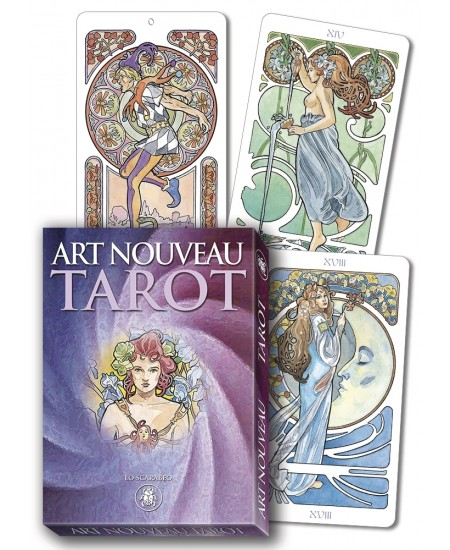 Tarot Art Nouveau Grand Trumps Cards at Mystic Convergence Metaphysical Supplies, Metaphysical Supplies, Pagan Jewelry, Witchcraft Supply, New Age Spiritual Store