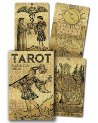 Tarot Black & Gold Edition Cards Mystic Convergence Metaphysical Supplies Metaphysical Supplies, Pagan Jewelry, Witchcraft Supply, New Age Spiritual Store