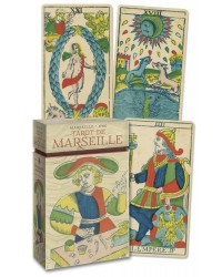 Tarot de Marseille Cards - Anima Antiqua Mystic Convergence Metaphysical Supplies Metaphysical Supplies, Pagan Jewelry, Witchcraft Supply, New Age Spiritual Store