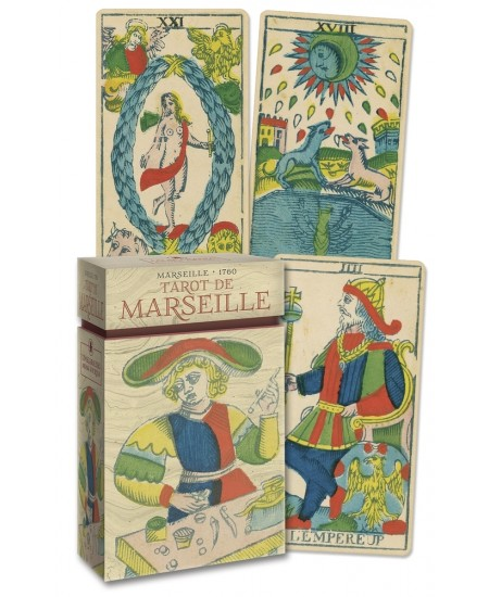Tarot de Marseille Cards - Anima Antiqua at Mystic Convergence Metaphysical Supplies, Metaphysical Supplies, Pagan Jewelry, Witchcraft Supply, New Age Spiritual Store