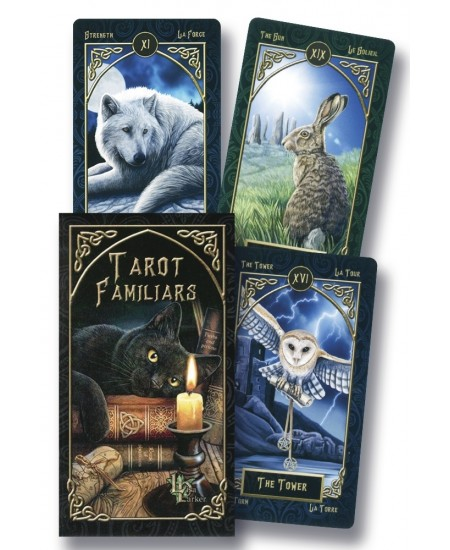 Tarot Familiars Cards at Mystic Convergence Metaphysical Supplies, Metaphysical Supplies, Pagan Jewelry, Witchcraft Supply, New Age Spiritual Store