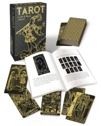 Tarot Gold & Black Edition Mystic Convergence Metaphysical Supplies Metaphysical Supplies, Pagan Jewelry, Witchcraft Supply, New Age Spiritual Store
