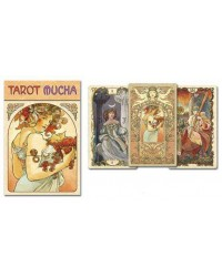 Mucha Art Nouveau Tarot Cards Mystic Convergence Metaphysical Supplies Metaphysical Supplies, Pagan Jewelry, Witchcraft Supply, New Age Spiritual Store