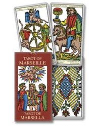 Tarot of Marseille Mini Tarot Deck Mystic Convergence Metaphysical Supplies Metaphysical Supplies, Pagan Jewelry, Witchcraft Supply, New Age Spiritual Store