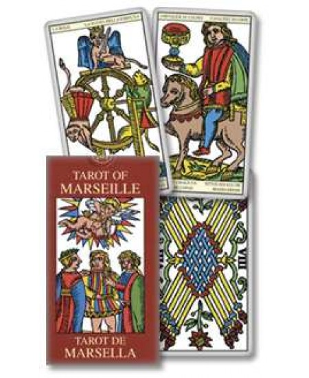 Tarot of Marseille Mini Tarot Cards at Mystic Convergence Metaphysical Supplies, Metaphysical Supplies, Pagan Jewelry, Witchcraft Supply, New Age Spiritual Store