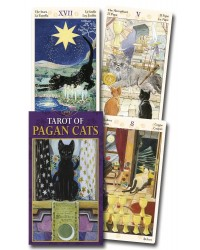 Tarot of Pagan Cats Mini Deck Cards Mystic Convergence Metaphysical Supplies Metaphysical Supplies, Pagan Jewelry, Witchcraft Supply, New Age Spiritual Store