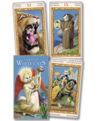 Tarot of White Cats Cards Mystic Convergence Metaphysical Supplies Metaphysical Supplies, Pagan Jewelry, Witchcraft Supply, New Age Spiritual Store