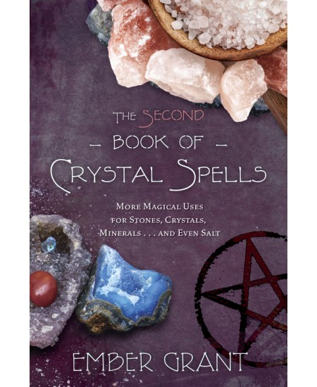 The Second Book of Crystal Spells at Mystic Convergence Metaphysical Supplies, Metaphysical Supplies, Pagan Jewelry, Witchcraft Supply, New Age Spiritual Store