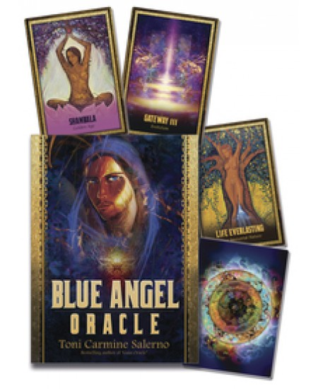 Blue Angel Oracle Cards at Mystic Convergence Metaphysical Supplies, Metaphysical Supplies, Pagan Jewelry, Witchcraft Supply, New Age Spiritual Store