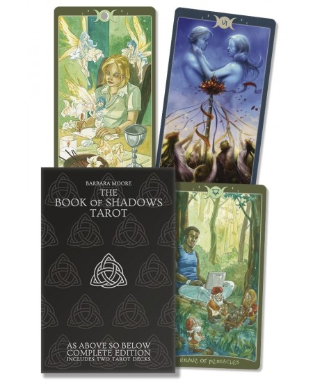 The Book of Shadows Tarot Cards Complete Kit at Mystic Convergence Metaphysical Supplies, Metaphysical Supplies, Pagan Jewelry, Witchcraft Supply, New Age Spiritual Store