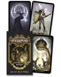 The Steampunk Tarot Mini Cards Mystic Convergence Metaphysical Supplies Metaphysical Supplies, Pagan Jewelry, Witchcraft Supply, New Age Spiritual Store