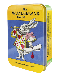 The Wonderland Tarot Cards in a Tin Mystic Convergence Metaphysical Supplies Metaphysical Supplies, Pagan Jewelry, Witchcraft Supply, New Age Spiritual Store