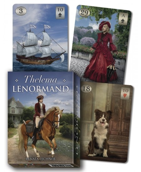 Thelema Lenormand Oracle Cards at Mystic Convergence Metaphysical Supplies, Metaphysical Supplies, Pagan Jewelry, Witchcraft Supply, New Age Spiritual Store
