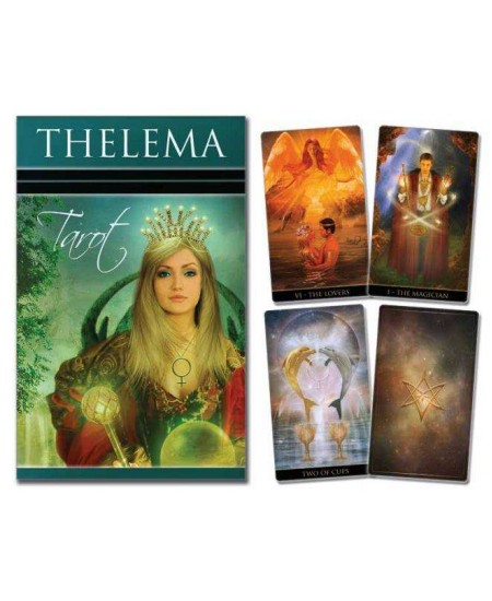 Thelema Tarot Cards at Mystic Convergence Metaphysical Supplies, Metaphysical Supplies, Pagan Jewelry, Witchcraft Supply, New Age Spiritual Store