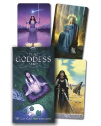 Triple Goddess Tarot Cards Mystic Convergence Metaphysical Supplies Metaphysical Supplies, Pagan Jewelry, Witchcraft Supply, New Age Spiritual Store