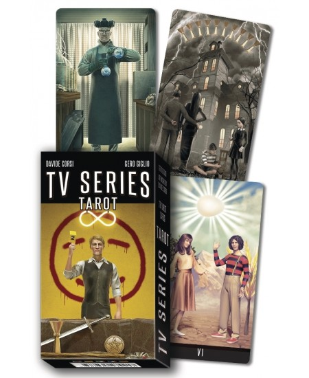 TV Series Tarot Cards at Mystic Convergence Metaphysical Supplies, Metaphysical Supplies, Pagan Jewelry, Witchcraft Supply, New Age Spiritual Store