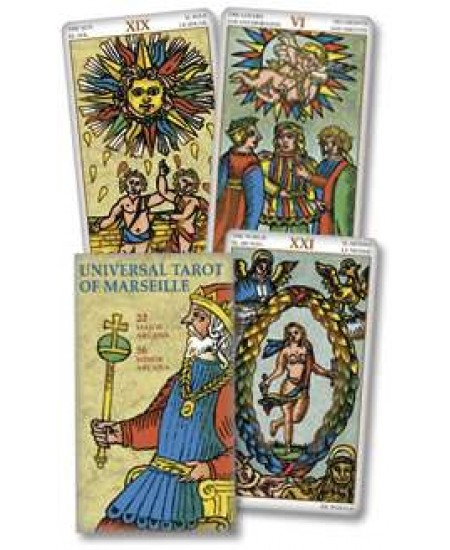 Universal Tarot of Marseille Cards at Mystic Convergence Metaphysical Supplies, Metaphysical Supplies, Pagan Jewelry, Witchcraft Supply, New Age Spiritual Store