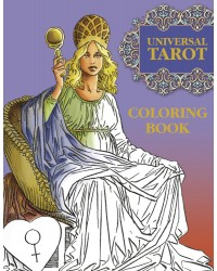 Universal Tarot Coloring Book Mystic Convergence Metaphysical Supplies Metaphysical Supplies, Pagan Jewelry, Witchcraft Supply, New Age Spiritual Store