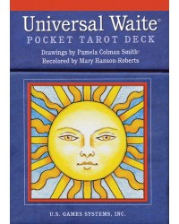 Universal Waite Pocket Tarot Cards Mystic Convergence Metaphysical Supplies Metaphysical Supplies, Pagan Jewelry, Witchcraft Supply, New Age Spiritual Store