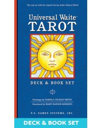 Universal Waite Tarot Deck & Book Set Mystic Convergence Metaphysical Supplies Metaphysical Supplies, Pagan Jewelry, Witchcraft Supply, New Age Spiritual Store