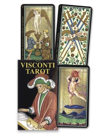 Visconti ItalianTarot Mini Cards at Mystic Convergence Metaphysical Supplies, Metaphysical Supplies, Pagan Jewelry, Witchcraft Supply, New Age Spiritual Store