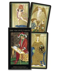 Visconti Italian Tarot Deck Mystic Convergence Metaphysical Supplies Metaphysical Supplies, Pagan Jewelry, Witchcraft Supply, New Age Spiritual Store