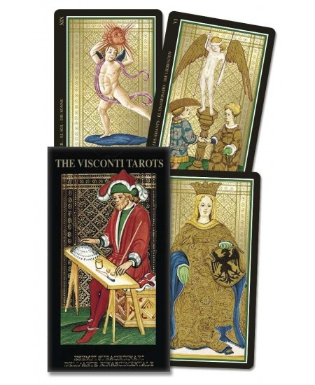 Visconti Italian Tarot Cards at Mystic Convergence Metaphysical Supplies, Metaphysical Supplies, Pagan Jewelry, Witchcraft Supply, New Age Spiritual Store