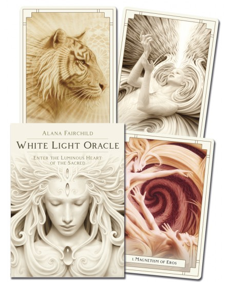 White Light Oracle Cards at Mystic Convergence Metaphysical Supplies, Metaphysical Supplies, Pagan Jewelry, Witchcraft Supply, New Age Spiritual Store