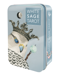 White Sage Tarot in a Tin Mystic Convergence Metaphysical Supplies Metaphysical Supplies, Pagan Jewelry, Witchcraft Supply, New Age Spiritual Store