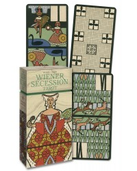 Wiener Secession Tarot Cards - Anima Antiqua Mystic Convergence Metaphysical Supplies Metaphysical Supplies, Pagan Jewelry, Witchcraft Supply, New Age Spiritual Store