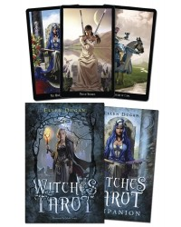 Witches Tarot Deck and Book Set Mystic Convergence Metaphysical Supplies Metaphysical Supplies, Pagan Jewelry, Witchcraft Supply, New Age Spiritual Store