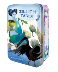 Zillich Tarot Cards in a Tin Mystic Convergence Metaphysical Supplies Metaphysical Supplies, Pagan Jewelry, Witchcraft Supply, New Age Spiritual Store