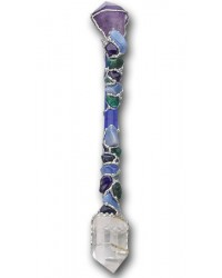 Fearless Large Crystal Wand for Strength & Courage