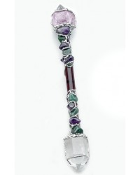 Healer Large Crystal Wand for Healing Work
