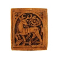Celtic Stag Small Wall Plaque