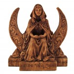 Moon Goddess Pagan Altar Statue at Mystic Convergence Metaphysical Supplies, Metaphysical Supplies, Pagan Jewelry, Witchcraft Supply, New Age Spiritual Store