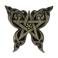 Butterfly Pentacle Wall Plaque