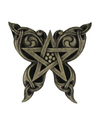 Butterfly Pentacle Wall Plaque Mystic Convergence Metaphysical Supplies Metaphysical Supplies, Pagan Jewelry, Witchcraft Supply, New Age Spiritual Store