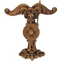 Irminsul Wood Finish Norse Plaque