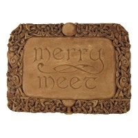 Merry Meet Pagan Wall Plaque