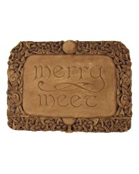 Merry Meet Pagan Wall Plaque Mystic Convergence Metaphysical Supplies Metaphysical Supplies, Pagan Jewelry, Witchcraft Supply, New Age Spiritual Store